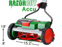 Brill Razorcut Accu electric reel mower
