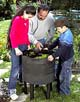Can-o-worms composter