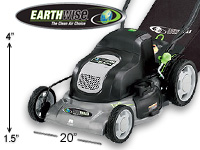 Earthwise cordless electric mower