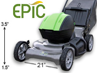 Epic EP21H electric reel mower