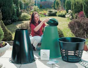 The Green Cone Composting System