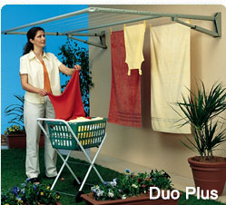 paraline duo plus folding clothesline