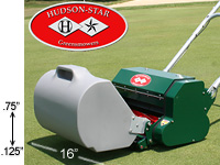 Hudson Star Signature greens mower