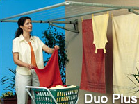 Hills Paraline Duo Plus folding frame clothesline