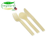 Vegware Bio-degradable Cutlery