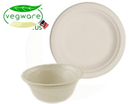 Vegware Bio-degradable Tableware