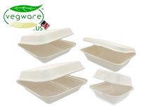 Vegware Bio-degradable Take-out Boxes