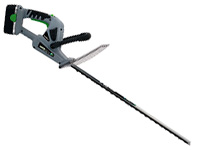 Earthwise 22in cordless electric hedge trimmer