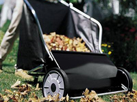 Rolling Leaf 26 inch Push Lawn Sweeper
