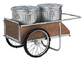 GC 20 Garden Cart Yard and Dock Deluxe Wood Cart
