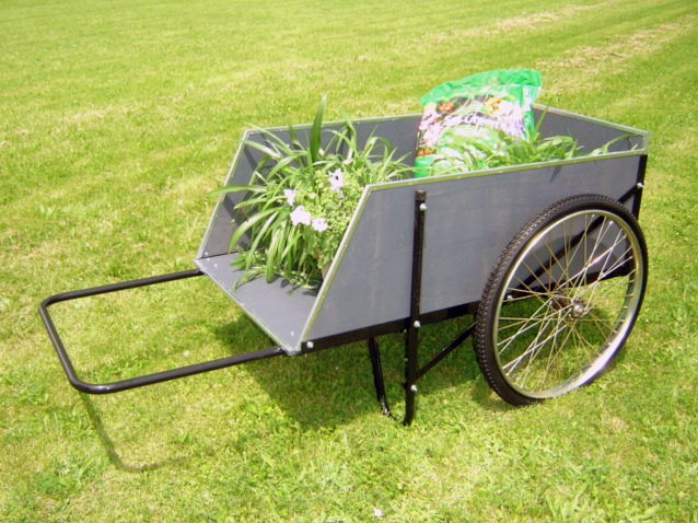 Carts Vermont Model 26 Garden Cart Wood Cart