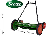 "Scotts 20"" Classic Reel Mower"