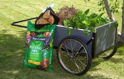 Smart Cart Utility Cart, Smart Cart Wheelbarrow, Vermont Carts Model 20