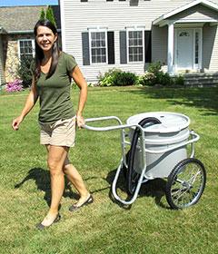Smart Water Cart Plus Wheelbarrow For Garden Stable Lawn
